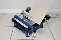 Vitrex Power Pro 650w electric tile wet saw 650W industrial motor mitre cuts