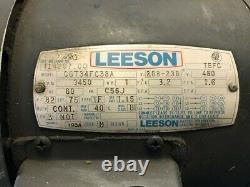 Weinman 4AC-3P12 Used 1 HP Centrifugal Pump, 7.6 GPM @ 16' Hd. 125 PSI Max, 3Ph