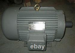 Worldwide Electric 10 HP Industrial Electric Motor, Model WWE10-36-215TC, New