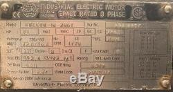 Worldwide Industrial Electric Motor 30 HP