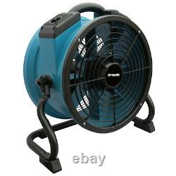 XPOWER X-34TR 1/4 HP Variable Speed Industrial Sealed Motor Axial Fan with Timer