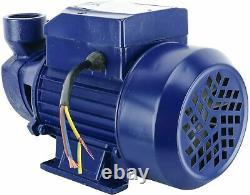 1/2hp Electric Industriel Centrifuge Clair Pompe À Eau Propre Piscine Pond Farm Us