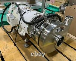 2017 Tri-clover C328 Pompe Centrifuge En Acier Inoxydable 10hp