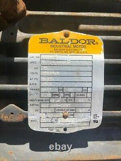 25 Ch Baldor Moteur Électrique Industriel. 1760rpm, 284t, Em4103t
