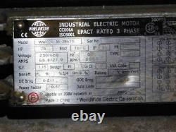 25hp Dans Le Monde Industriel Wwe25-36-284ts Moteur Électrique, 3-phase, 230 / 460v