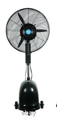 26 Pulvérisateur De Dépoussiérage Industriel Humidifiant Le Système De Filtre À Air Du Ventilateur 110v