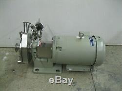 2-1 / 2 X 2 Fristam Fpx742-175 Pompe Centrifuge Baldor 10 HP Moteur Z18 (2557)