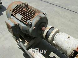 30 HP Industrielle Moteur Electrique Avec Armstrong Pompe A Eau
