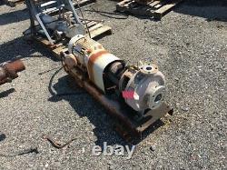 3 X 1-1/2 Durco Durion Mark II Centrifugal Pump Ss Avec Moteur Haz Loc De 7,5 HP