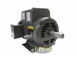 5 HP / 1 Phase Industriel Baldor Moteur Électrique 184t Cadre L8430t 230 Volt