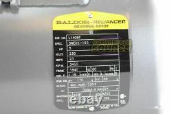 5 HP 3450 RPM 1 Phase Industriel Baldor Moteur Électrique 184t Cadre L1409t 230 V