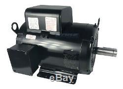 7.5hp Baldor Compresseur Duty Industriel Moteur Électrique, 215t, 1740 Rpm, 208-230v