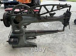 Adler Machine À Coudre 30-10 Réparation De Chaussures En Cuir Long Arm Moteur De Bobine Industrielle