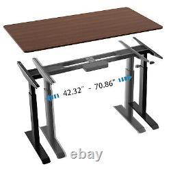 Aimezo Electric Standing Desk Hauteur Réglable Cadre Dual Motor Stand Up Desk
