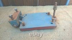 Antique Fonte Électrique Motor Plate Vintage Industrial Machine Bracket Mount