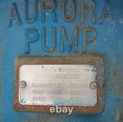 Aurora Pompe Centrifuge 664a 380gpm 1175rpm 20 Pieds De Tête