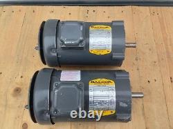 Baldor 34g363-232 Industriel Moteur Électrique 3-phase 1 / 2hp Dépendance 0.5hp 3450rpm
