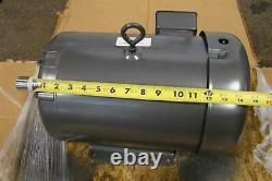 Baldor Electric Standard Efficient Industrial Motor 208-230/460v 28-27/13.5amps