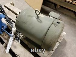 Baldor Em3710t 3 Phase 7.5hp Moteur Électrique Industriel 1770 RPM