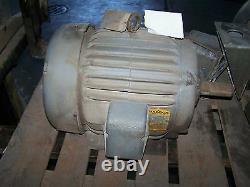 Baldor M2394t 15hp 3525rpm Moteur Électrique Industriel