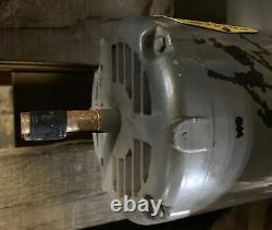 Baldor M3109 1/2hp 3 Phase Moteur Électrique Industriel