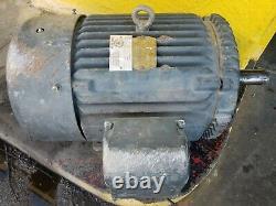 Baldor M4103t 25 HP Moteur Électrique Industriel