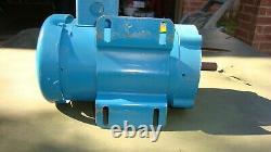 Baldor. Moteur Industriel Électrique 5 HP Ac 56c 115/230 V 1ph 1425 RPM