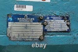 Baumuller Nurnberg Gnag 160 MV Moteur Électrique 440v