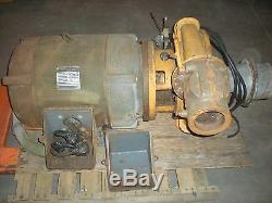 Berkeley Modèle B4aypbh Pompe Centrifuge Withcentury 125ch 1770rpm 460v 3ph Moteur