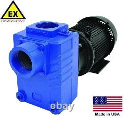 Centrifugal Pump Explosion Proof Automatisation 3 Ports 5 HP 230/460v 3p