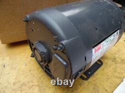 Dayton 31tt14 3/4 HP Moteur Électrique Industriel 3 Phase 208-230/450 Volt 1725 RPM