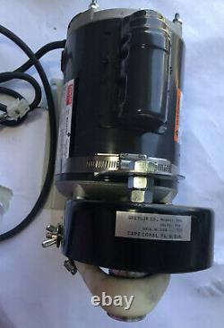 Dayton Electric Industrial Motor Unique Phase 1/3 HP Part No. 6k490be