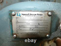 Dresser Ingersoll 2llr-11 Pompe De Boîtier À Fente Horizontale Avec Moteur De 100ch