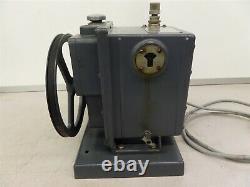 Duoseal 1402 Pompe À Vide Électrique Ge Ac Motor 5kc42jg14e