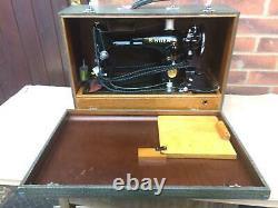 Electric Singer 201k-2 Potted Motor Vintage Machine À Coudre Antique
