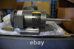 Flambant Neuf-baldor Reliance Industrial Electric Motor 3 Hp, 3450 RPM