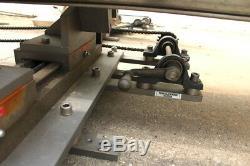 Flexlink Double V Table Système De Convoyeur 10' X 1,75 Eurodrive Motoréducteur Sew
