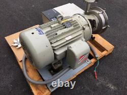 Fristam 40 HP Ss Sanitaire Pompe Centrifuge Avec Allen-bradley Powerflex 400 Vfd