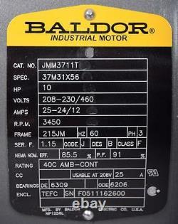 G&l Ssh-c Pompe 10ch Moteur Baldor 1x2-8 10ash1l5b0 Ph3