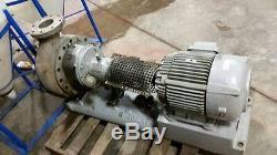Goulds Modèle De Pompe 3196, La Taille 4x6-13, 316 En Acier Inoxydable, Monté Avec Moteur