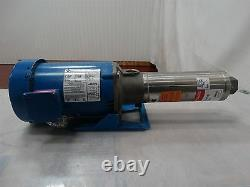 Goulds Pump 7gbc05 Withfranklin Electric Motor 1/2hp 50/60hz 3450/2875rpm 115/230v