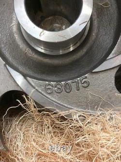 Goulds Pump Impeller 3175 18x18x22h 5 Vane 316 Ss Goulds Pn 63075 Nouveau