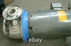 Goulds Pump Itt G & L Series Ssh & Baldor Industrial Motor HP 7,5