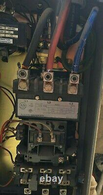 Granulateur Industriel En Plastique Avec Allen Bradley Electric Motor 25 HP