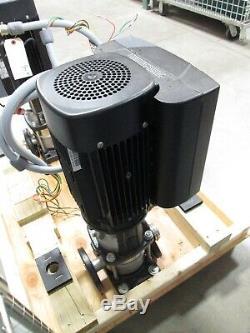 Grundfos Crne5-3 Pompe Centrifuge Avec Vfd In-line, La Fondation Mont 460-480vac