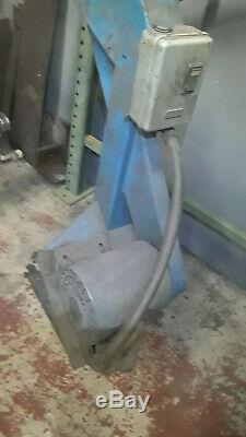 Heavy Duty Industriel Socle Tampon Grinder Avec 3 Phases 1 HP Moteur De Puissance