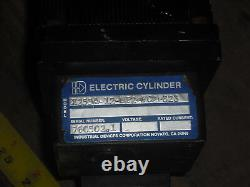 Industrial Devices Electric Cylinder, X255a-12-mp2-fc2-323, Withparker Servo Motor