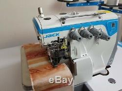 Jack E4 4 Fils Surjeteuse Moteur À Entraînement Direct Machine À Coudre Industrielle