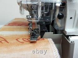 Jack E4 4 Thread Overlocker Direct Drive Motor Machine À Coudre Industrielle
