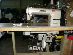 Juki 555 Industrielle Couture Machine Avec Vitesse Réglable Servomoteur Led Needlel